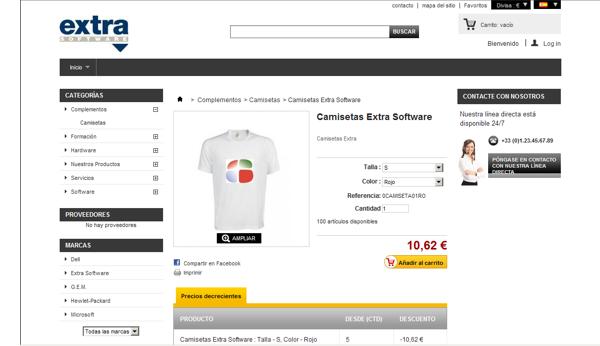 Tienda Online Shop, venta online de productos